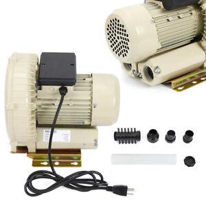 12KPa 370w Centrifugal Circulating Air Pumpe Blower Electric Blower For Aquarium