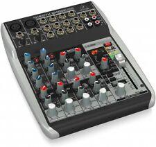 NEW Behringer QX1002USB Xenyx Premium Ultra Low Noise High Headroom Analog Mixer