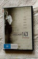 APARTMENT 143 [EMERGO] DVD, R-4, LIKE NEW, FREE POST WITHIN AUSTRALIA