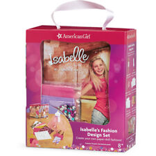 American Girl BOOK LE ISABELLE FASHION DESIGN SET NEW Box Girl of Year Craft