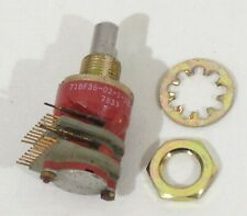 Grayhill 71BF36-02-1-10S-F Mil-Spec 10 Postition Rotary Switch 81073 7833