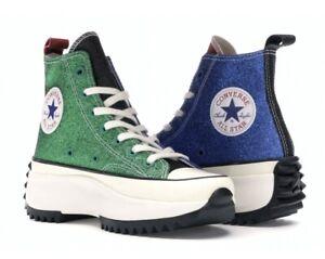 Converse JW Anderson Chuck Taylor Glitter Run Star Hike High-Top Sneakers Unisex