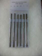 Jewelers Piercing Saw Blades 144 Piece Set 1 Gross
