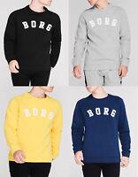 Bjorn Borg Navy Grey Black Round neck Sweatshirt Jumper Sweater top S M L XL 2XL