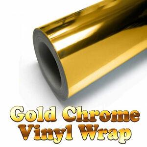 Pellicola CROMATA adesivo specchiato cromato oro chrome car wrapping auto moto