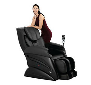 Osaki Titan TW-Chiro 3D Massage Chair S Track Large Oversize Recliner Black