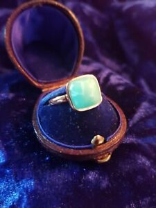 Turquoise Stone Gold Plated Ring Q