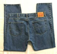 MENS 38 X 31 LEVI'S 505 BLUE JEANS - (505 = REGULAR FIT) - (TAGS STATE 38 X 32)