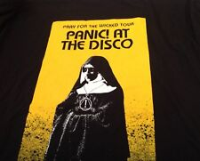 cd30a0b5 Panic! At the Disco Pray For The Wicked Nun Local Crew T Shirt Black XL