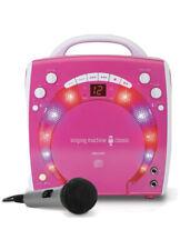 New listing Singing Machine Sml-283P Cdg Karaoke Player Karaoke Machine Pink See Descrip