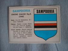 EDIS CALCIATORI 1977-78 SAMPDORIA SCUDETTO #445 446 VELINA NUOVO CARD