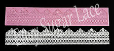 Silicone ROCHELLE CAKE LACE Mat / Mold for Edible Sugar Lace FREE Shipping