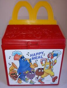 Vintage Fisher Price Fun With Food McDonald's Happy Meal Box 1989 Empty