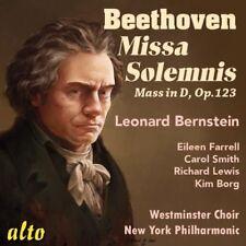 [BRAND NEW] CD: BEETHOVEN: MISSA SOLEMNIS: LEONARD BERNSTEIN