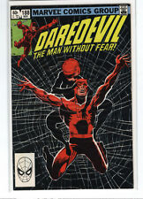 Daredevil #188 Frank Miller Black Widow 9.2