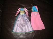 RARE BARBIE OUTFIT DRESS WITH CAPE CLOTHING