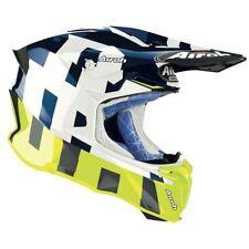 Airoh Giro 2.0 Marco Brillo Azul Motocross MX Enduro Moto de Cross Casco