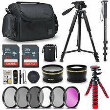 Pro 52MM Accessories Bundle Kit for Nikon D3400