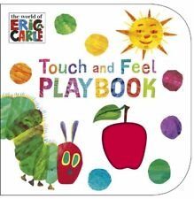 The Very Hungry Caterpillar: Touch and Feel Playbook by Carle, Eric | Board book