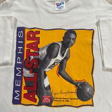 Vintage Hanes Penny Hardaway Memphis Tigers T-Shirt 1995 Men's Size Large White