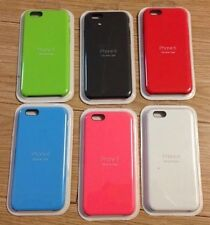 """GENUINE Apple Silicone Case For iPhone 6(S) PLUS 5.5"""" TOP SELLING ALL COLOURS"""