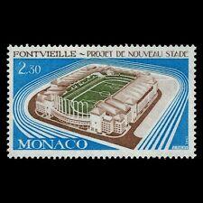 Monaco 1982 - Fontvieille Sports Stadium Soccer Architecture - Sc 1334 MNH