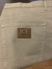 Mens Iceberg Jeans Limited Edition Color Tan Size 42 New With Tags