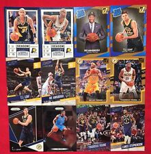 "Pacers 2017-18 <12 Pack> ""Then and Now"" Lot: Reggie Miller + <Emergent> + <Rain>"