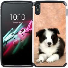 """Puppy Dog Cat Designs Case Dual Layer Cover for Alcatel One Touch Idol 3 (5.5"""")"""