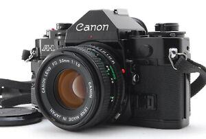 Near MINT/ CANON A-1 + New FD 50mm F1.8 SLR Film Camera from Japan #1394