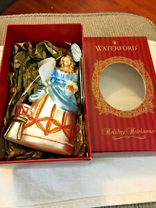 Waterford Holiday Heirlooms Eight Maids Milking Ornament Poland Original Box