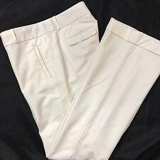 Banana Republic Womens Trouser #718 Size 8 Stretch Martin Fit White Dress Career