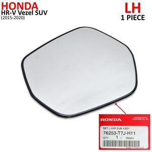 For Honda HR-V Vezel SUV 2015 20 Lh Wing Side Mirror Lens + Base Matte Black