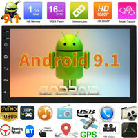 "7"" Android9.1 Car Stereo Bluetooth Radio MP5 MP3 Player Double DIN GPS Navi WiFi"