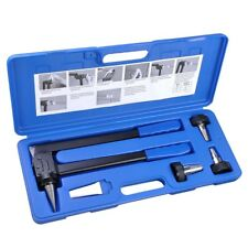 "PEX Expansion Tool Kit Tube Expander with 1/2"" 3/4"" 1"" Expander Heads Hard Case"