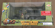 Ultimate Soldier 10174 U.S. WC63 1 1/2 Ton Dodge Weapons Carrier 1/18 New