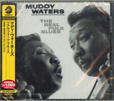 MUDDY WATERS-THE REAL FOLK BLUES -JAPAN CD Ltd/Ed  B50