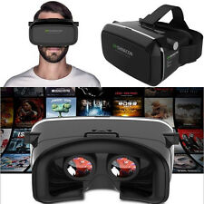 VR Shinecon 3D Virtual Reality Movie Game Glasses Head Mount Google Cardboard BH