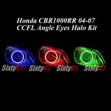 Honda CBR 1000RR 2004-2007 Dual CCFL Demon Angel Eyes Halo Rings light kit