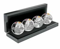 2019 VIETNAM WAR 4 Coin Silver Proof Set