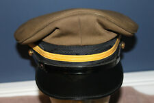 Scarce Original South African Army Visor Cap, 1985 dated, Size 61 Marked