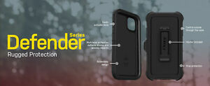 OtterBox Defender Drop Protection Case Apple iPhone 6 7 8 SE XR X XS 11 PRO MAX