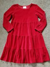 Youth Girls Hanna Andersson Red Dress Sz 120 (Us 6-7) * Excellent *