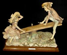 Vintage 70's Rare G Armani Children Playing In Seesaw Italy See Description