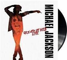 "Michael Jackson ""Greatest Hits - Live"" 180g heavyweight Vinyl LP Album NEU 2018"