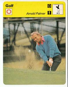 ARNOLD PALMER Golf PGA Star Golfer 1978 SPORTSCASTER CARD 19-03