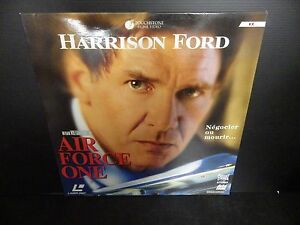 Laserdisc, Air Force One, Harrison Ford, Very Good Condition! Complete