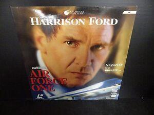 LASERDISC , AIR FORCE ONE , Harrison Ford , Très bon état ! Complet