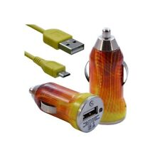 Lighter car charger with usb data cable cv05 for nokia asha 200/: