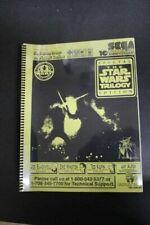 Sega Star Wars Trilogy Pinball Machine Manual - New Copy